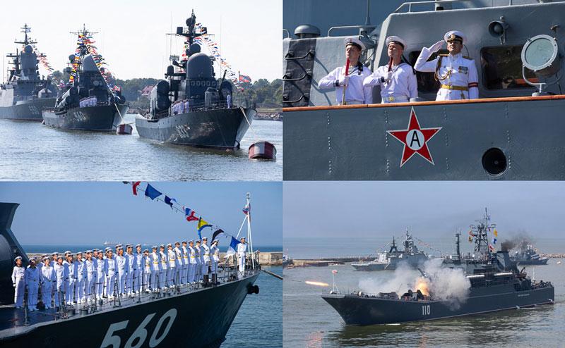 Празднование российского дня Военно-Морского Флота 2019 в Севастополе
